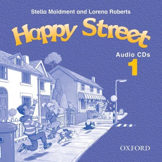 Happy Street 1 Audio CD : 9780194317672