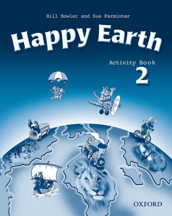 Happy Earth 2 Activity Book : 9780194338523