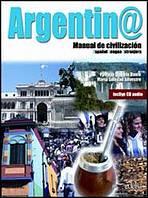 ARGENTINA MANUAL DE CIVILIZACION LIBRO + CD AUDIO