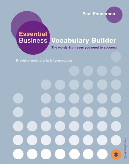 Essential Business Vocabulary Builder + CD