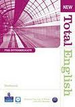 New Total English Pre-Intermediate Workbook without Key with Audio CD