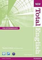 New Total English Pre-Intermediate Teacher´s Book with CD-ROM