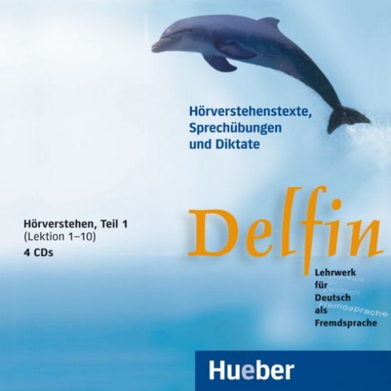Delfin, zweibändige Ausgabe, 4 Audio-CDs Hörverstehe 1