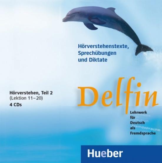 Delfin, zweibändige Ausgabe, 4 Audio-CDs Hörverstehe 2