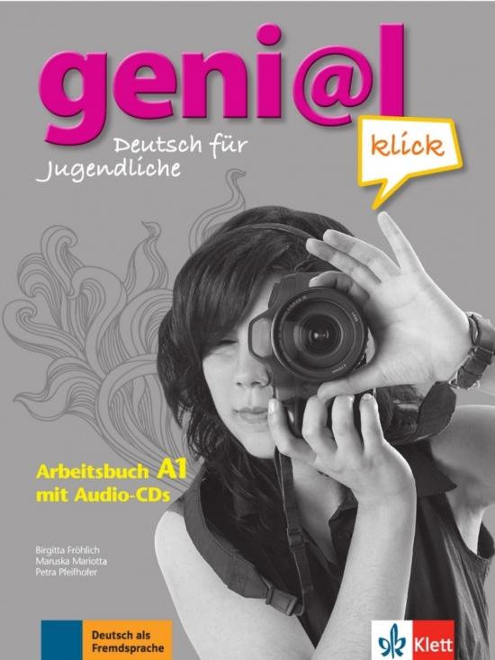 Genial Klick A1 Arbeitsbuch mit 2 Audio-CDs : 9783126062817
