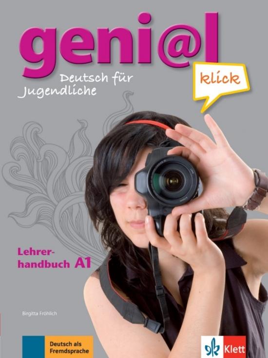 Genial Klick A1 Lehrerhandbuch mit integriertem Kursbuch