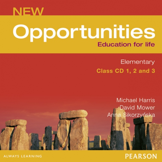 NEW OPPORTUNITIES Elementary Class Audio CD