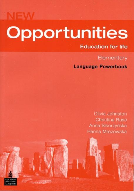 NEW OPPORTUNITIES Elementary LANGUAGE POWERBOOK + CD-ROM