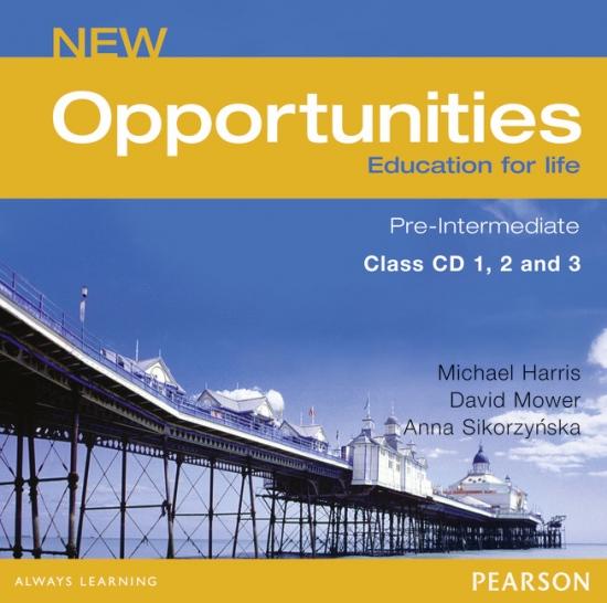 NEW OPPORTUNITIES Pre-Intermediate CLASS CD : 9780582851955