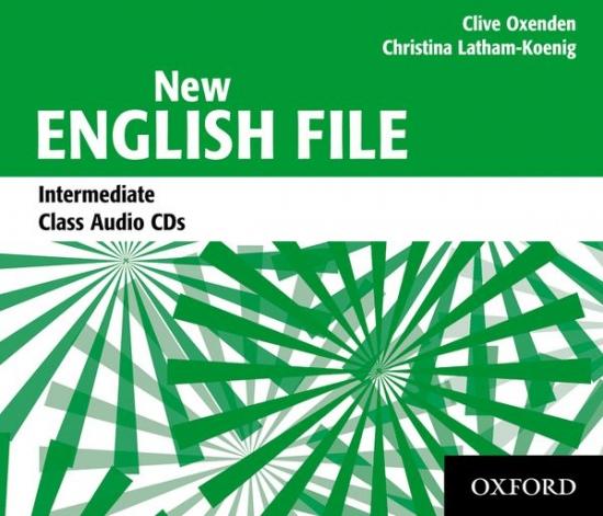 NEW ENGLISH FILE Intermediate CLASS CD : 9780194518093