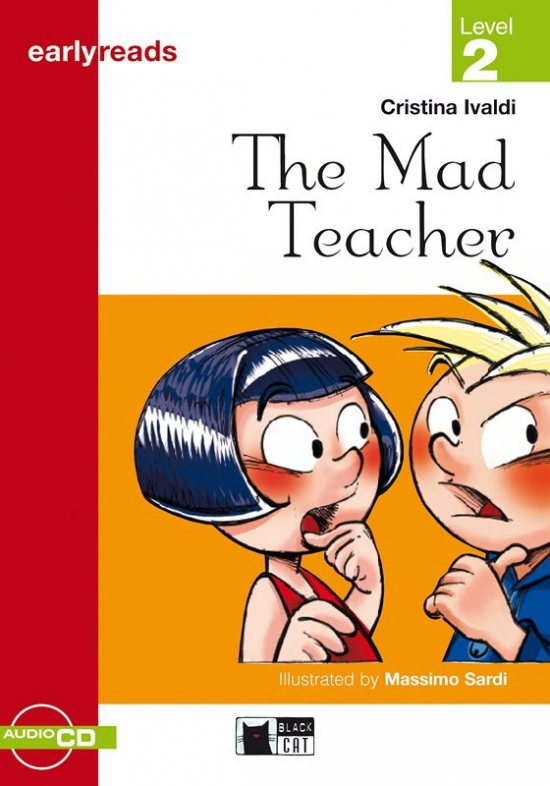 BLACK CAT - MAD TEACHER + CD (Early Readers Level 2)