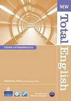 New Total English Upper Intermediate Teacher´s Book with CD-ROM