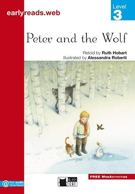 BLACK CAT EARLY READERS 3 - PETER AND THE WOLF : 9788853010896