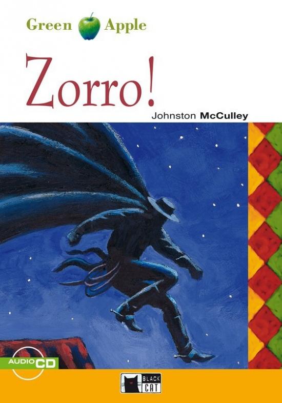 BLACK CAT READERS GREEN APPLE EDITION STARTER - ZORRO! + CD