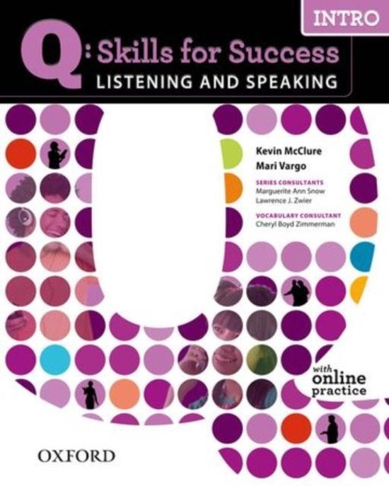 Q: Skills for Success Listening & Speaking Intro Student´s Book with Access to Online Practice