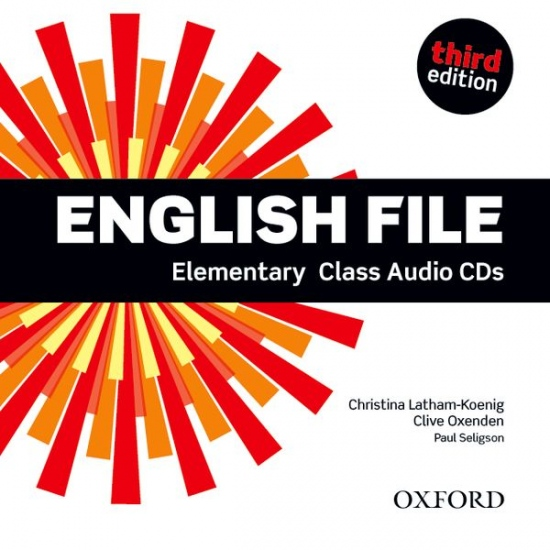English File Elementary (3rd Edition) Class Audio CDs (4)