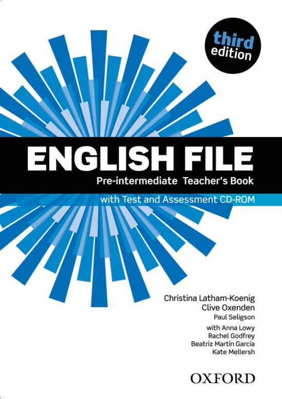 English File Pre-Intermediate (3rd Edition) Teacher´s Book with Test & Assessment CD-ROM