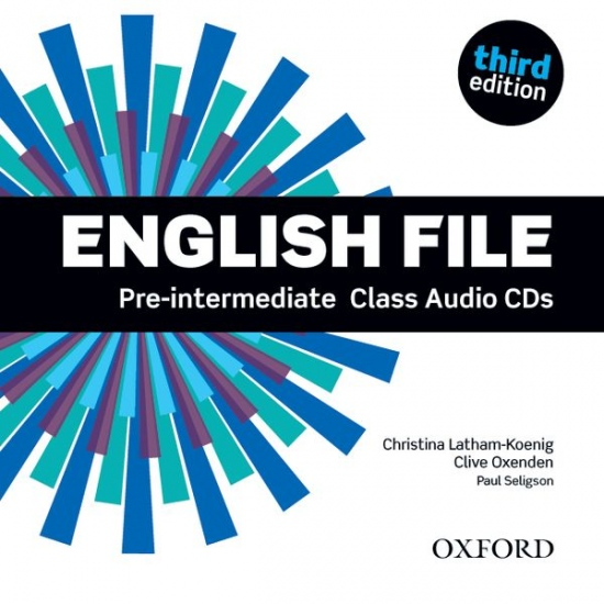 English File Pre-Intermediate (3rd Edition) Class Audio CDs (4)