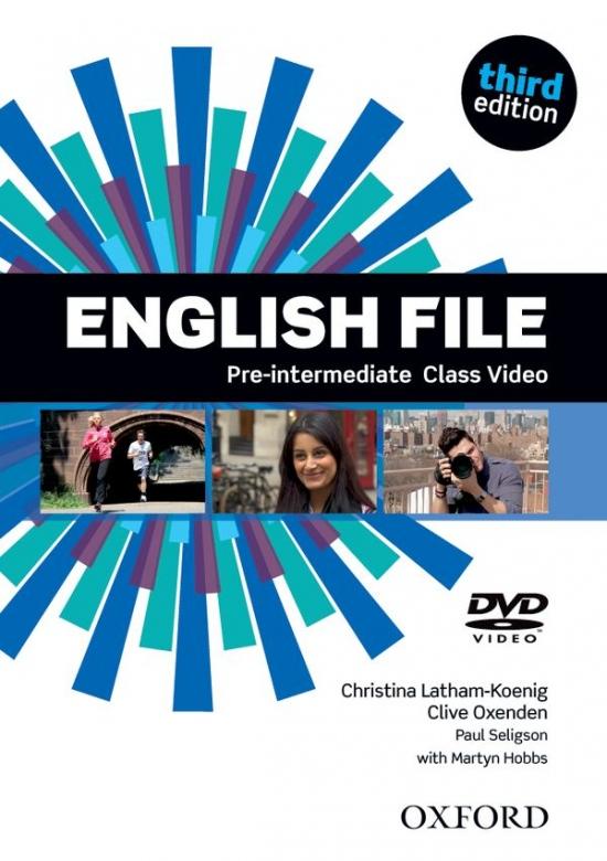English File Pre-Intermediate (3rd Edition) Class DVD