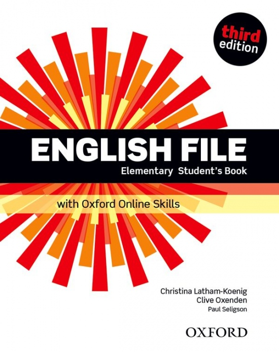 English File Elementary (3rd Edition) Student´s Book with Online Skills