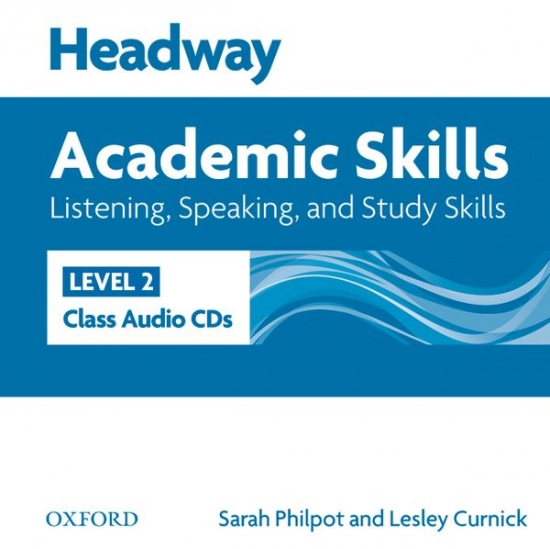 Headway Academic Skills 2 Listening & Speaking Class Audio CDs (2)