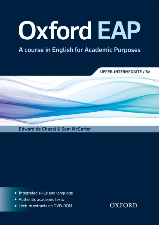 Oxford EAP (English for Academic Purposes) B2 Student´s Book with CD-ROM & Audio CD