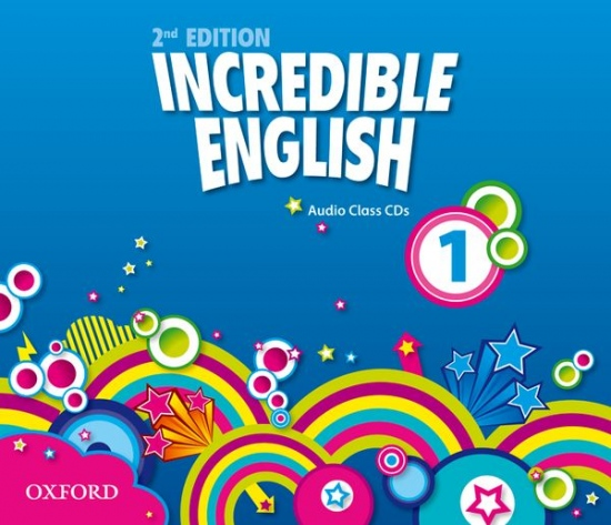 Incredible English 1 (New Edition) Class Audio CD (3)