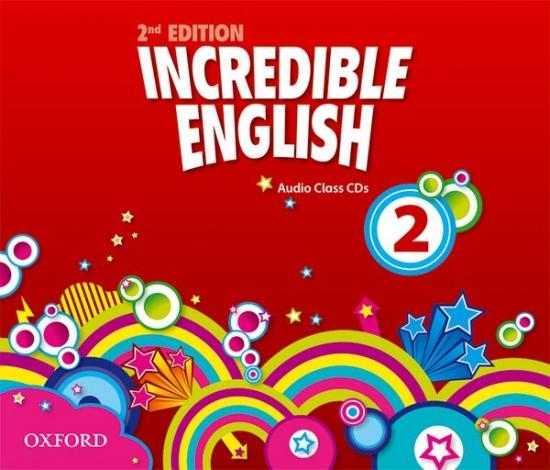 Incredible English 2 (New Edition) Class Audio CD (3)