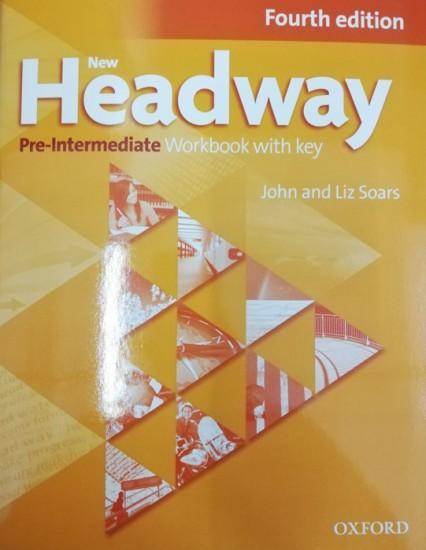 New Headway Pre-Intermediate (4th Edition) Workbook with Answer Key