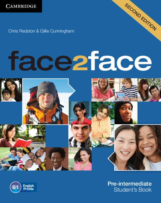 face2face 2nd edition Pre-intermediate Student´s Book with DVD-ROM