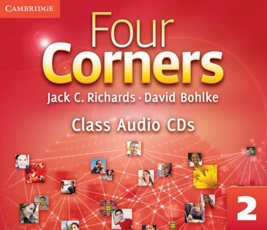 Four Corners 2 Class Audio CDs