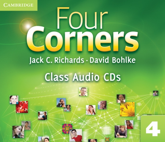 Four Corners 4 Class Audio CDs