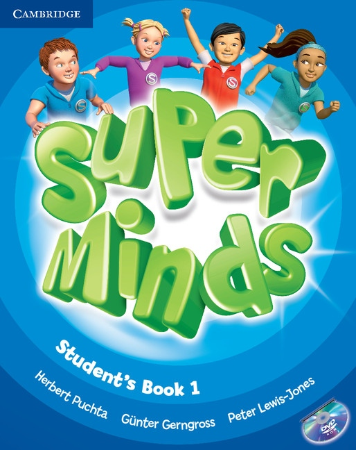 Super Minds 1 Student´s Book with DVD-ROM