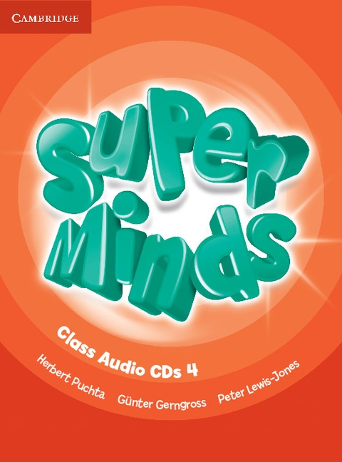 Super Minds 4 Class CDs (3)