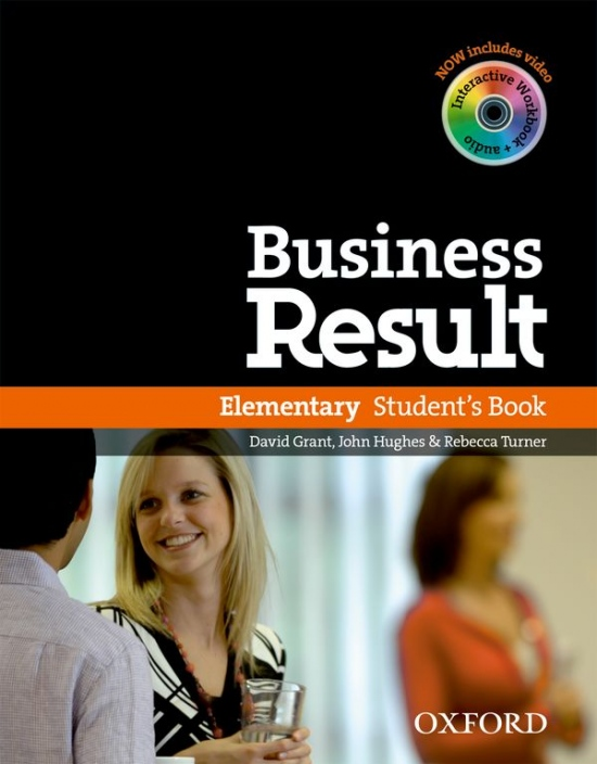 Business Result Elementary Student´s Book with DVD-ROM : 9780194739375