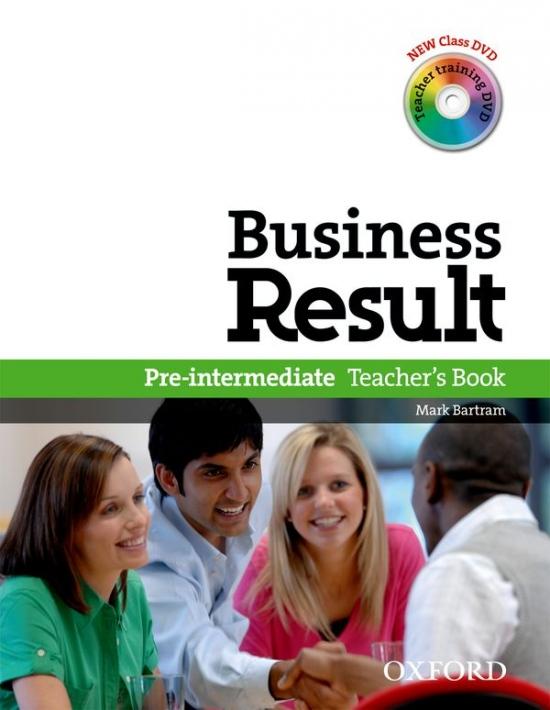 Business Result Pre-Intermediate Teacher´s Book with DVD-Video