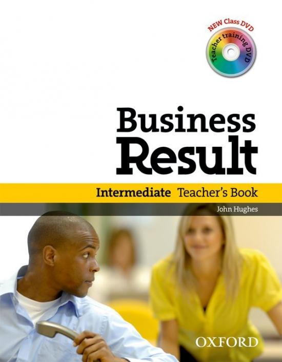 Business Result Intermediate Teacher´s Book Book with DVD-Video : 9780194739443