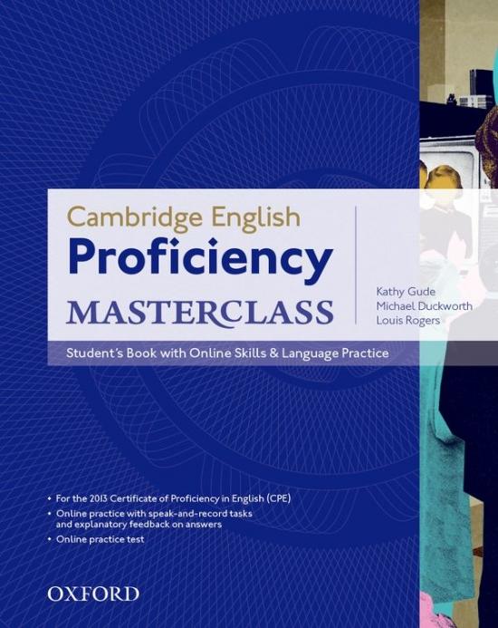Cambridge English Proficiency Masterclass STUDENT´S BOOK with ONLINE SKILLS & LANGUAGE PRACTICE