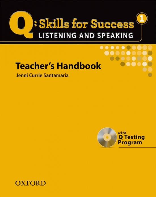 Q: Skills for Success Listening & Speaking 1 (Elementary) Teacher´s Book with Testing Program CD-ROM