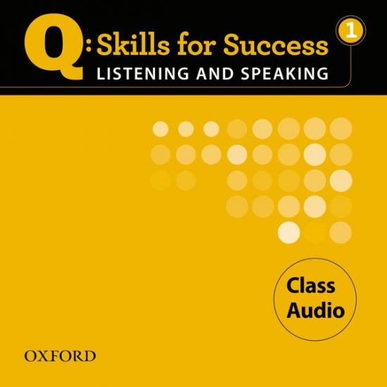 Q: Skills for Success Listening & Speaking 1 (Elementary) Class Audio CD