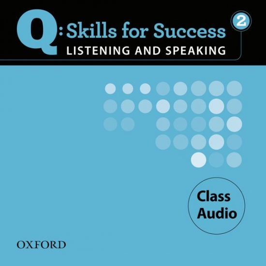Q: Skills for Success Listening & Speaking 2 (Pre-Intermediate) Class Audio CD