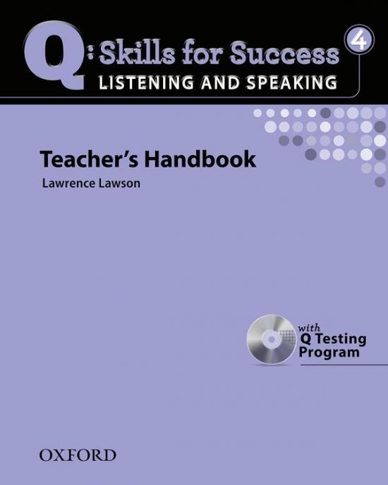Q: Skills for Success Listening & Speaking 4 (Upper Intermediate) Teacher´s Book with Testing Program CD-ROM