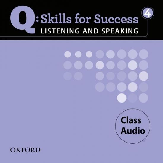 Q: Skills for Success Listening & Speaking 4 (Upper Intermediate) Class Audio CD