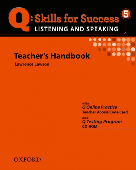 Q: Skills for Success Listening & Speaking 5 (Advanced) Teacher´s Book with Testing Program CD-ROM