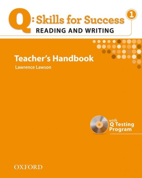 Q: Skills for Success Reading & Writing 1 (Elementary) Teacher´s Book with Testing Program CD-ROM