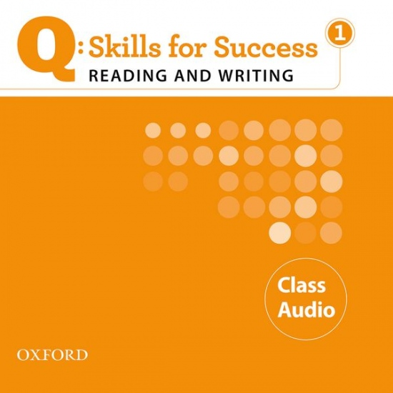 Q: Skills for Success Reading & Writing 1 (Elementary) Class Audio CD