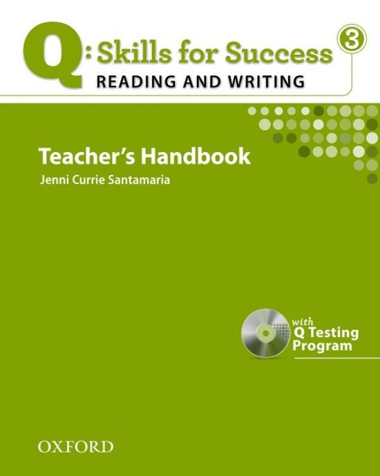 Q: Skills for Success Reading & Writing 3 (Intermediate) Teacher´s Book with Testing Program CD-ROM
