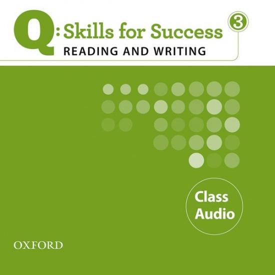 Q: Skills for Success Reading & Writing 3 (Intermediate) Class Audio CD
