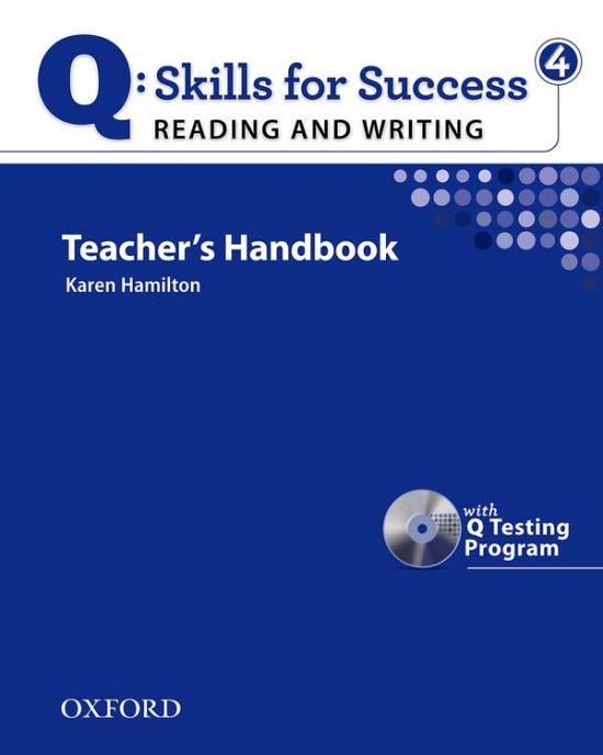 Q: Skills for Success Reading & Writing 4 (Upper Intermediate) Teacher´s Book with Testing Program CD-ROM