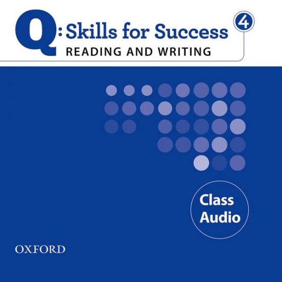 Q: Skills for Success Reading & Writing 4 (Upper Intermediate) Class Audio CD